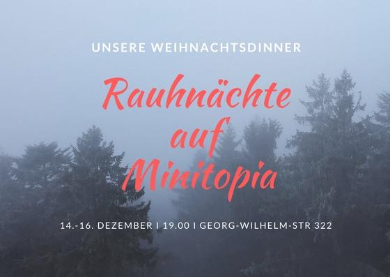 Rauhnächte auf Minitopia - unsere Weihnachtsdinner @ Minitopia | Hamburg | Hamburg | Deutschland
